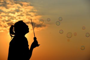 Bubbles are one of the Effects of Inflation